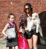 Miley Cyrus and her sister Noah Cyrus seen together on January 30th 2010 as they arrive at a studio in Burbank 1