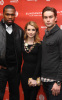50 Cent with Chace Crawford and Emma Roberts attend the premiere of Twelve on January 29th 2010 at the Eccles Theatre during the Sundance Film Festival in Park City Utah 1