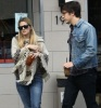 Drew Barrymore and Justin Long seen on January 29th 2010 while shopping together in Los Feliz California 1