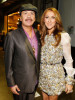 Celine Dion and Carlos Santana backstage during the 52nd Annual GRAMMY Awards held at Staples Center on January 31st 2010 in Los Angeles California 2