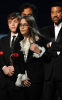Paris and Prince Michael Jackson on stage to accept an award on their fathers behalf at the 52nd Annual GRAMMY Awards held at Staples Center on January 31st 2010 in Los Angeles California