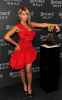 Beyonce Knowles was spotted at the Launch of her new fragrance Heat on February 2nd 2010 wearing a stylish short red dress 1