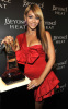 Beyonce Knowles was spotted at the Launch of her new fragrance Heat on February 2nd 2010 wearing a stylish short red dress 6