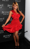 Beyonce Knowles was spotted at the Launch of her new fragrance Heat on February 2nd 2010 wearing a stylish short red dress 2