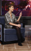 Jessica Alba picture while visiting the Jay Leno Show on February 1st 2010 at the NBC studio 6