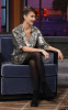 Jessica Alba picture while visiting the Jay Leno Show on February 1st 2010 at the NBC studio 5