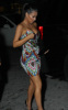 Kim Kardashian spotted arriving at a family dinner on February 5th 2010 at Prime 112 in Miami 3