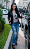 Kim Kardashian picture while heading to the Intercontinental hotel on February 2nd 2010 in Miami Florida 4