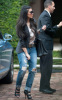 Kim Kardashian picture while heading to the Intercontinental hotel on February 2nd 2010 in Miami Florida 3