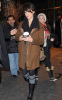 Jessica Alba spotted on February 3rd 2010 walking in New York wearing a brown coat jacket 2