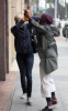 LeAnn Rimes meets Queen on the scene while leaving a doctors office on February 4th 2010 in Beverly Hills 2
