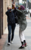 LeAnn Rimes meets Queen on the scene while leaving a doctors office on February 4th 2010 in Beverly Hills 1
