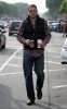 Wentworth Miller seen grabbing coffee from Starbucks on February 2nd 2010 in West Hollywood 2