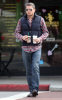 Wentworth Miller seen grabbing coffee from Starbucks on February 2nd 2010 in West Hollywood 1