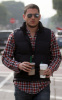 Wentworth Miller seen grabbing coffee from Starbucks on February 2nd 2010 in West Hollywood 4