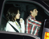 Nick Jonas and Selena Gomez arriving at Jim Henson Studios to record We Are the World on February 1st 2010 in Hollywood 1