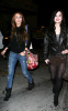 Miley Cyrus seen with Demi Lovato on February 2nd 2010 in Studio City 4