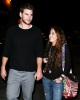 Miley Cyrus spotted with her boyfriend  Liam Hemsworth on February 2nd 2010 in Studio City 3