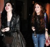 Miley Cyrus seen with Demi Lovato on February 2nd 2010 in Studio City 8