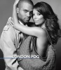 Eva Longoria and her husband Tony Parker photo shoot for the London Fog promotional campaign of February 2010 in black and white 10