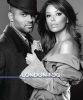 Eva Longoria and her husband Tony Parker photo shoot for the London Fog promotional campaign of February 2010 in black and white 11