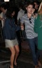 Ed Westwick and  Jessica Szohr seen together on February 6th 2010 while leaving their hotel in Miami Beach 1