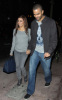 Eva Longoria and Tony Parker seen together as they arrive to Beso on February 6th 2010 in Hollywood 1