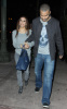 Eva Longoria and Tony Parker seen together as they arrive to Beso on February 6th 2010 in Hollywood 2