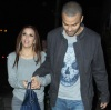 Eva Longoria and Tony Parker seen together as they arrive to Beso on February 6th 2010 in Hollywood 4