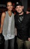 Jessica Alba with Benji Madden at the Creative Artists Agency Super Bowl on February 6th 2010 at the W Hotel in South Beach