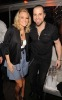 Carrie Underwood and Chris Daughtry at the Creative Artists Agency Super Bowl on February 6th 2010 at the W Hotel in South Beach