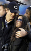 Ashton Kutcher and Demi Moore together at the Super Bowl on February 7th 2010 in Miami Gardens Florida 5
