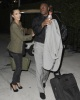 Kim Kardashian with Reggie Bush departing the Sun Life stadium after the game on February 7th 2010 in Miami 1