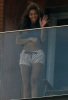 Beyonce Knowles spotted on the balcony of her hotel room on February 8th 2010 while in Rio de Janeiro Brazil 3