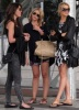 Stephanie Pratt with Audrina Patridge and Lauren Bosworth together on February 8th 2010 outside the Eden Roc Hotel in Miami 4