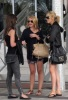 Stephanie Pratt with Audrina Patridge and Lauren Bosworth together on February 8th 2010 outside the Eden Roc Hotel in Miami 2