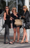 Stephanie Pratt with Audrina Patridge and Lauren Bosworth together on February 8th 2010 outside the Eden Roc Hotel in Miami 3