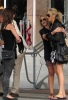 Stephanie Pratt with Audrina Patridge and Lauren Bosworth together on February 8th 2010 outside the Eden Roc Hotel in Miami 1