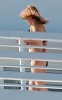 Blake Lively spotted on the balcony of her vacation hotel room on February 7th 2010 while in Miami Florida 1
