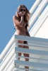 Blake Lively spotted on the balcony of her vacation hotel room on February 7th 2010 while in Miami Florida 4