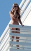 Blake Lively spotted on the balcony of her vacation hotel room on February 7th 2010 while in Miami Florida 5