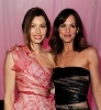 Jennifer Garner and Jessica Biel at the premiere of Valentines Day movie held on February 8th 2010 at Graumans Chinese Theatre in Hollywood 2
