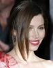 Jessica Biel attends the movie premiere of Valentines Day held on February 8th 2010 at Graumans Chinese Theatre in Hollywood 7