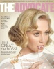 Portia de Rossi cover photo shoot for March 2010 issue of The Advocate Magazine