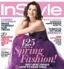 Anne Hathaway photo shoot for the cover of InStyle magazine March 2010 issue 1
