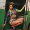 Beyonce Knowles picture while filming the new music video of Put It In a Love Song on February 9th 2010 in Rio de Janeiro Brazil 8