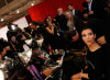Kim Kardashian backstage at the Heart Truth Fall 2010 Fashion Show during Mercedes Benz Fashion Week at The Tent at Bryant Park on February 11th 2010 in New York City 3