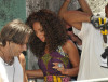 Alicia Keys seen at Conceicao Santa Marta slum while filming the new musical video on February 12th 2010 in Rio de Janeiro 3