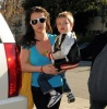 Britney Spears spotted with her son Jayden James Federline in Los Angeles on February 10th 2010 while arriving at a doctors office in Santa Monica 3