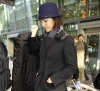 Jessica Alba spotted arriving at Heathrow Airport and heading to the Dorchester Hotel February 10th 2010 in London England 1